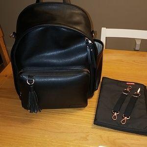 Skiphop Greenwich Black Diaper Backpack